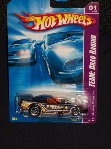 Hot Wheels 2008-157 Team: Drag Racing Mustang Funny Car 1:64 Scale