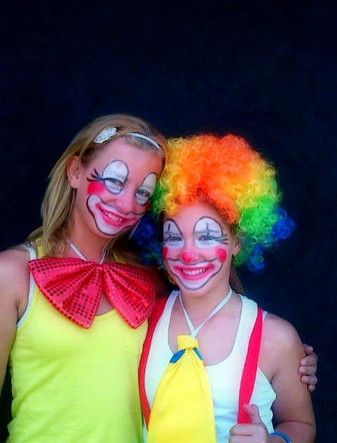17 best images about clowning on pinterest duck tape for Face painting clowns for birthday parties