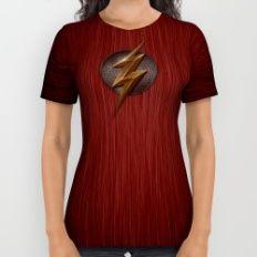 Flash logo All Over Print Shirt