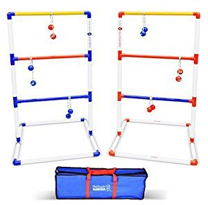 Amazon.com : GoSports Premium Ladder Toss Game with 6 Bolos and Carrying Case : Ladder Golf : Sports & Outdoors