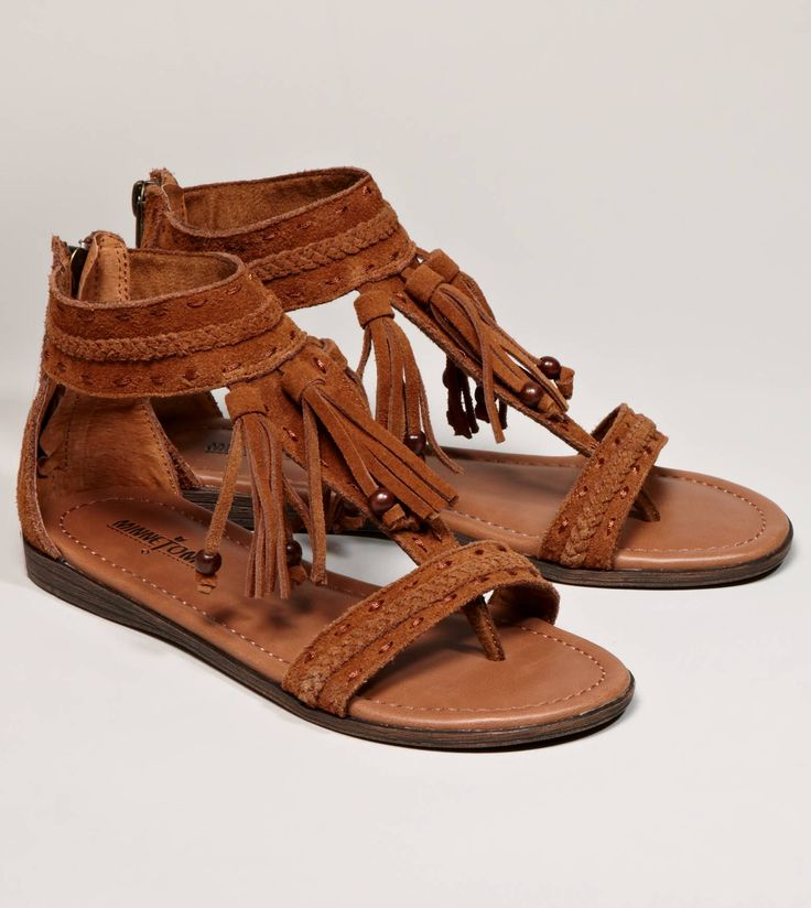 Boho chic style: Boho Chic, Summer Sandals, Summer Wear, Style, Belize Sandals, Summer Shoes, American Eagles Outfitters, Minnetonka Belize, Native American
