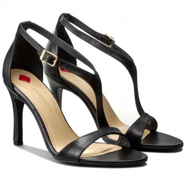 Sandały MACCIONI - 522 Czarny