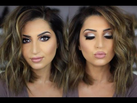 How To Curl Short Lob Hair Style. ((Washed & damp hair, stray with heat protection straight blow dry with fingers, flat iron ends straight now, with large curling wand work on waves, use a texture life powder))  EXCELLENT VIDEO.  QUICK & EASY STYLE.  Love..love this look!