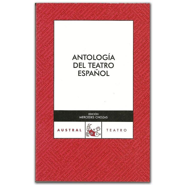 Libro Antología del teatro Español -  Varios - Grupo Planeta  http://www.librosyeditores.com/tiendalemoine/3496-antologia-del-teatro-espanol-9788467024005.html  Editores y distribuidores