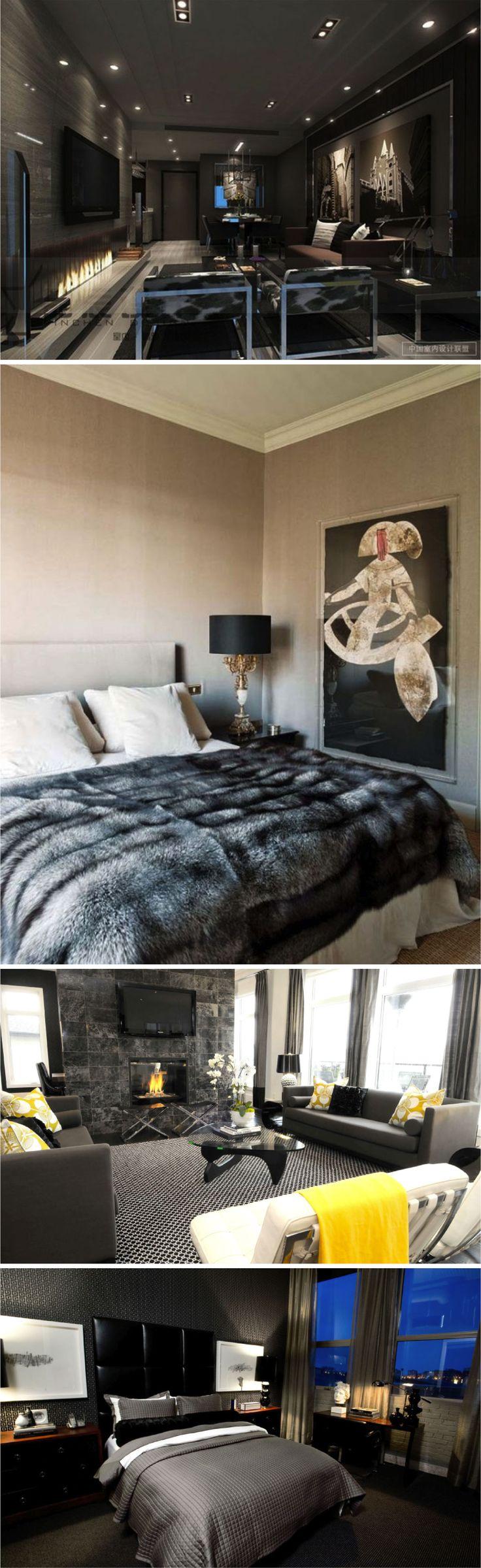 50 tons de cinza, a decoração! - Fashionismo