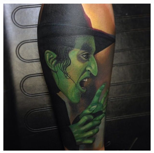 127 best wizard of oz images on pinterest tattoo ideas for Black anchor collective tattoo