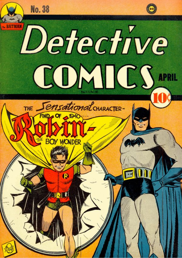 Detective Comics #38  Published: April 1940