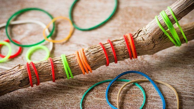 15 možností, jak využít obyčejnou gumičku v domácnosti - Hobby