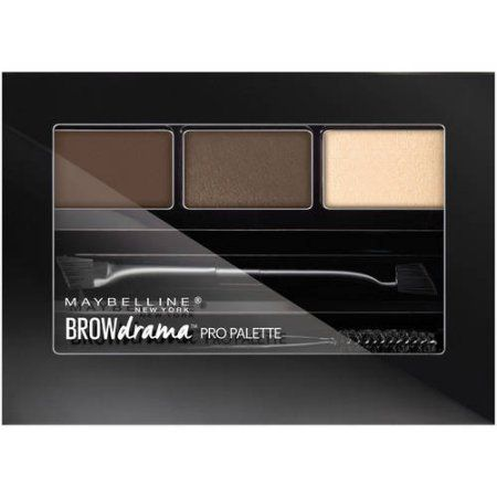 Maybelline Brow Drama Pro Eyebrow Palette, Brown