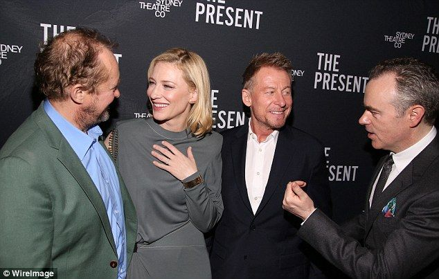 Cate Blanchett skips the Golden Globes to make her Broadway debut of The Present   Daily Mail Online