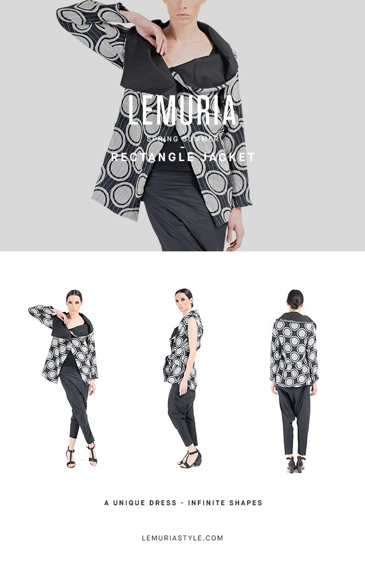 Double Jacket in printed linen,and cotton popeline,wearable as a gilet. #woman #clothing #multifunctional #dress #italy #brand #designclothing #design #italianbrand #boutique #cotton #jersey #lemuria #ss16 #collection #dress #overall #convertible #convertibledress #lemuria #lemuriaclothing #lemuriastyle