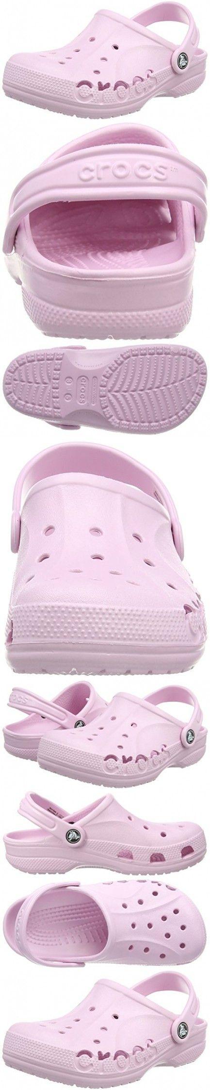 Crocs Baya Kids Clog, Ballerina Pink, 12-13 M US Little Kid