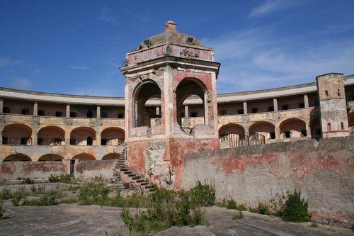 Isola di Ventotene - carcere di s.stefano