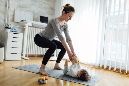 The Stir-5 Exercises to Help Strengthen Your Pelvic Floor Post-Baby