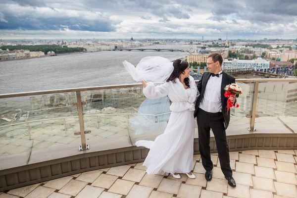 Свадьба на крыше СПб