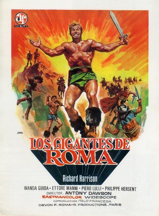 """Los gigantes de Roma (1964) """"I giganti di Roma"""" de Antonio Margheriti - tt0058140"""