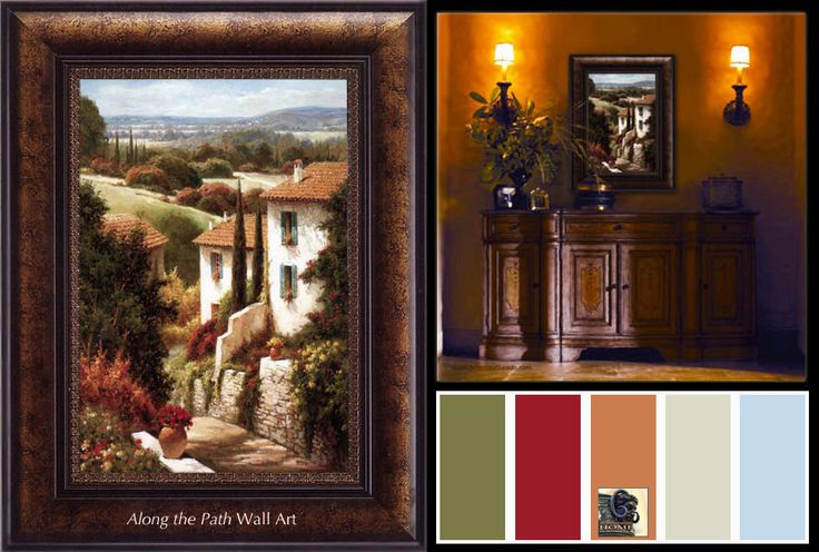 Tuscan Bathroom Colors: 25+ Best Images About Tuscan Decor Color Palette On
