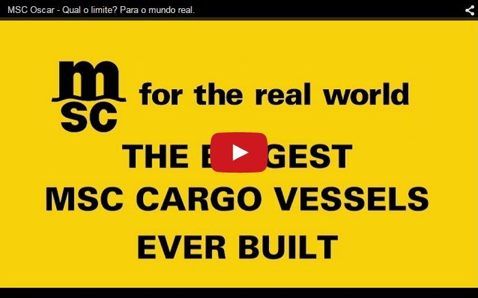 A video published on December 23, 2014 shows the towering-size of Mediterranean Shipping Company's (MSC) new vessel, the MSC OSCAR, which is now the largest in the world. The video shows a brief ti...