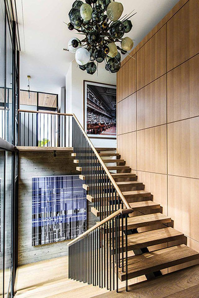 How To Decorate A Stair Railing On Wall Ideas That Will Blow Your Mind With Images Modern Staircase Outdoor Stair Railing Stairs