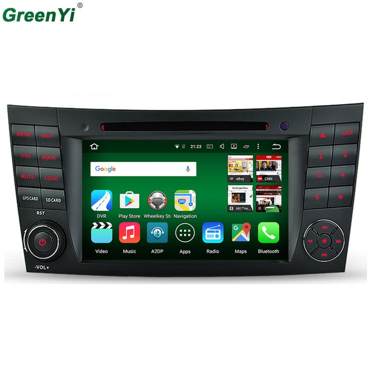 4G Android 6.0.1 Octa Core Cortex A53 For Mercedes Benz W211 W463 W219 W209 E G CLK CLS Class Car DVD Player GPS Stereo Radio //Price: $465.74 & FREE Shipping //     #dashcam