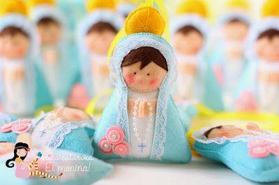Coisinhas de Feltro: Nossa Senhora das Graças