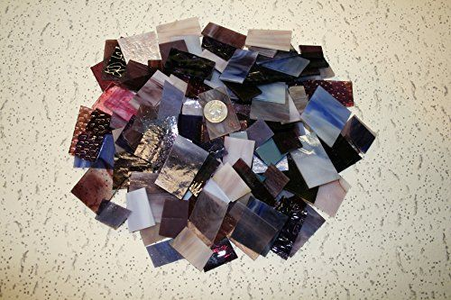 Purple Tones Mix Value Pack - Stained Glass / Mosaics (3 Pounds) -- Details can be found by clicking on the image.