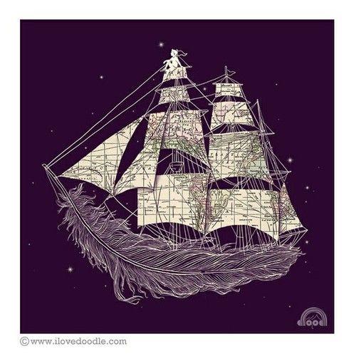 .: Tattoo Ideas, Awesome Tattoo, Tattoos, Heng Swee, Illustration, Ships