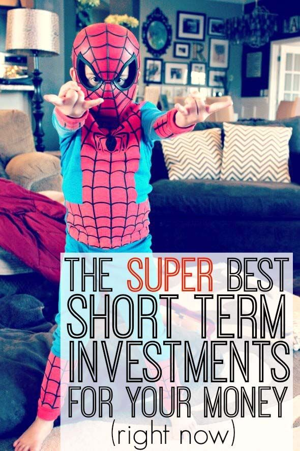 The best short term investments are going to keep your money safe while earning a reasonable rate of return.