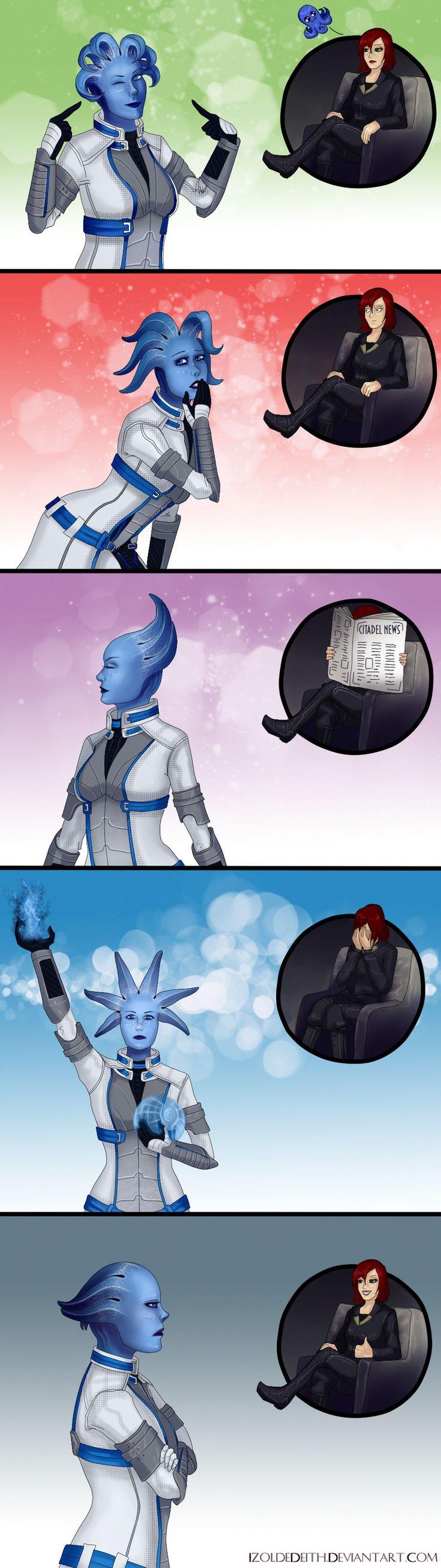 Mass Effect,фэндомы,ME комиксы,Femshep,Liara,IzoldeDeith