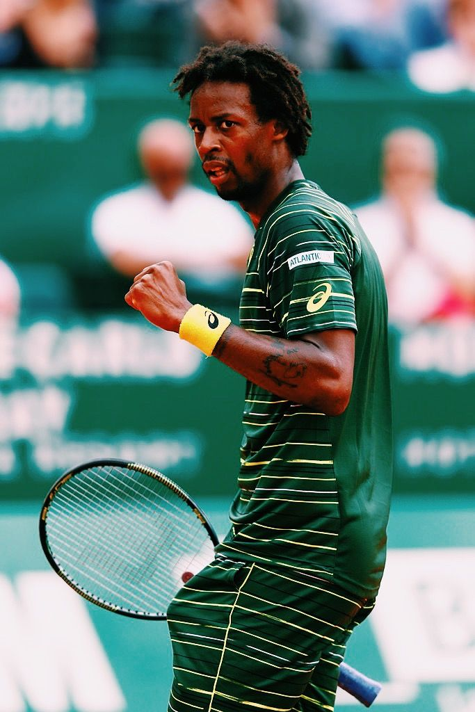 Gael Monfils- I absolutely love his game! It is very entertaining and very good. Haha Block B reference, if you get me. If you have friends, tell them about tennis! Another Block B reference. Sorry, I am weird. #NOLIFE