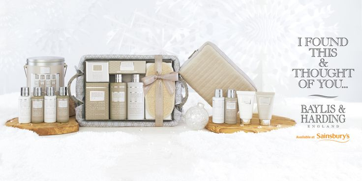 We believe being at home with family is one of the best things we love about Christmas. Welcome your loved ones home with our beautiful new La Maison collection. Find it at Sainsbury's: www.baylisandharding.com/sainsburys