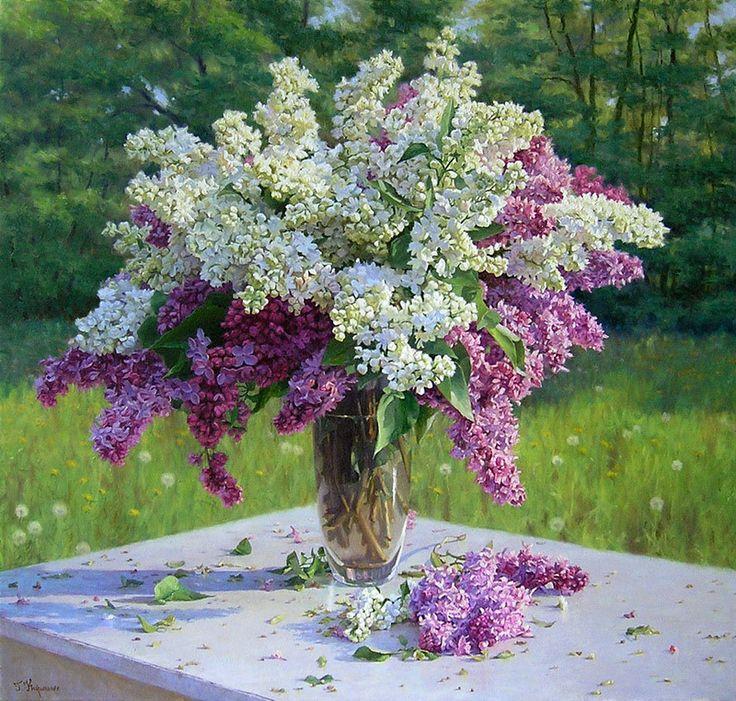 Gennadiy Kirichenko — Bouquet of Lilacs (800×762)