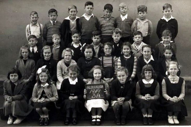 Alexandria Public School. 1949