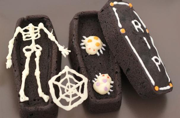 Brownie Coffins Recipe Halloween Spooky Halloween And