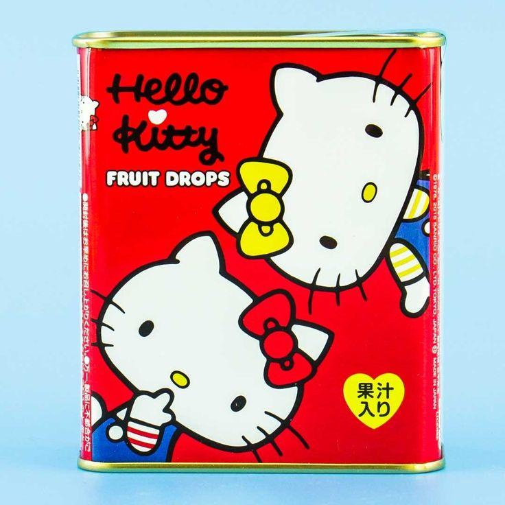 Sakuma Hello Kitty Fruit Drops Candy in 2020 Hello kitty