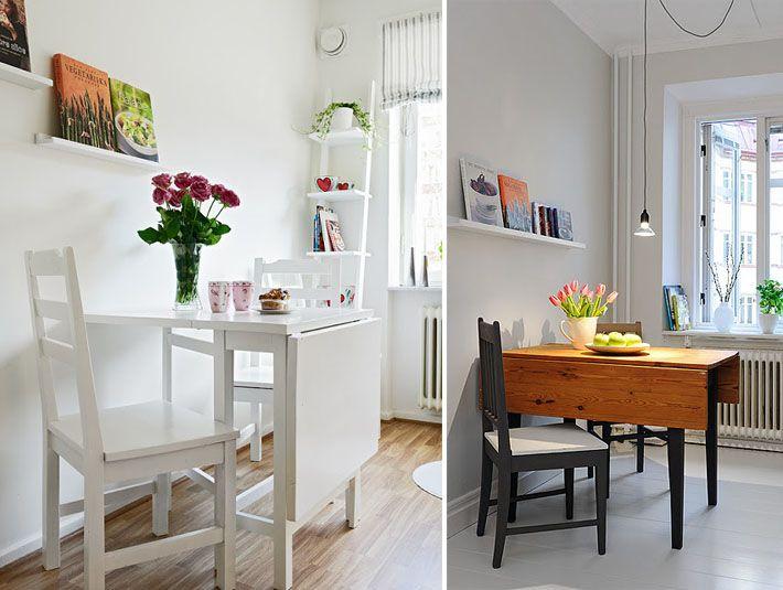 As 20 melhores ideias de mesa retratil de parede no pinterest - Mesas pequenas ...