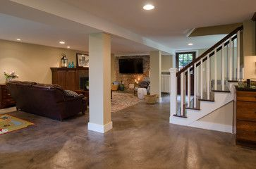 how to clean clean cement walls in basement