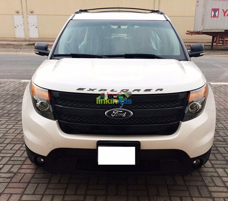 FORD EXPLORER 2014 White Limited Edition