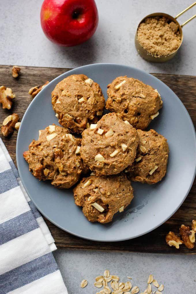 Applesauce Breakfast Cookies Recipe In 2020 Breakfast Cookies Breakfast Applesauce