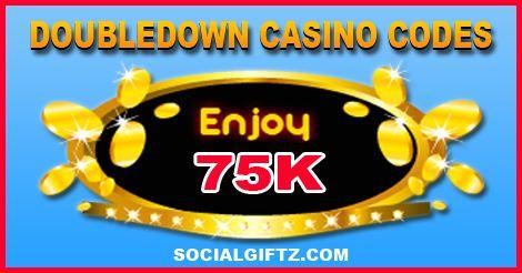 75K Doubledown Casino Promo Codes 07.23.16