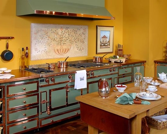 La Cornue Kitchen Designs Ideas Enchanting Decorating Design
