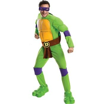 Cool Costumes Teenage Mutant Ninja Turtles Deluxe Donatello Costume just added...