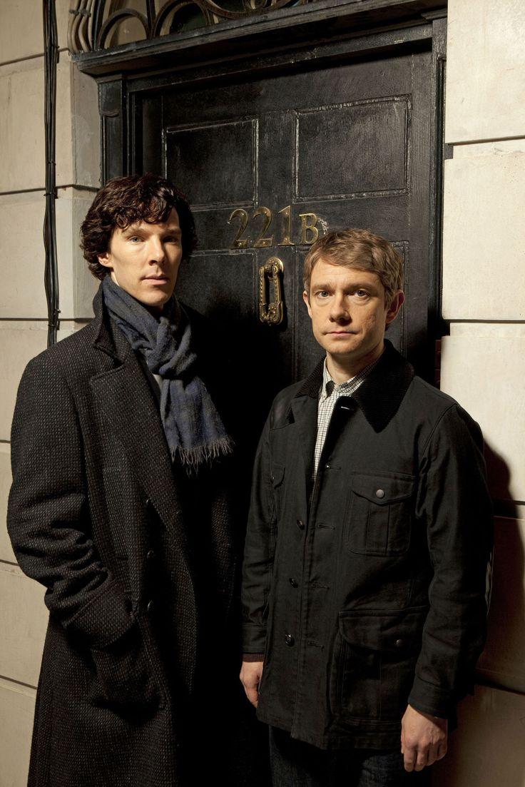 Sherlock - Sherlock Holmes (Benedict Cumberbatch) & Dr. John Watson (Martin Freeman)