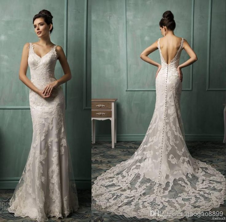 Mermaid Wedding Dresses In Chicago : Best images about backless on
