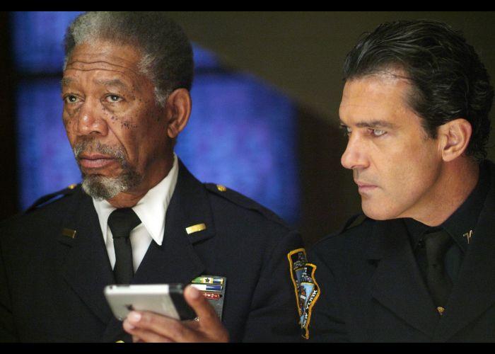 Antonio Banderas and Morgan Freeman in Thick as Thieves #movie #actors