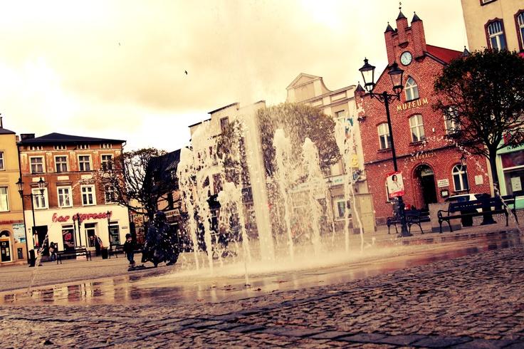 Rynek w Kościerzynie/ Costerina's marketplace #city #sightseeing