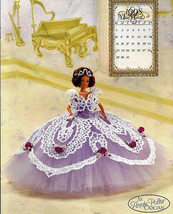 The Wedding Ballgowns 1998 Master Crochet Series  Miss March Crochet Pattern Book