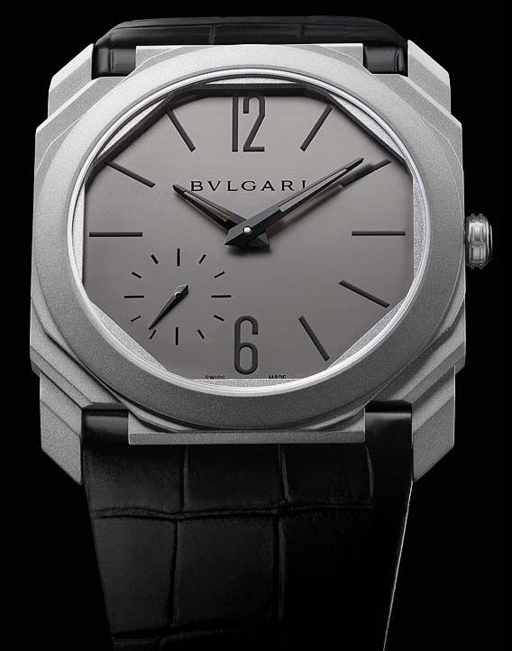 La Cote des Montres : La montre Bulgari Octo Finissimo Automatique - Un troisième record du monde pour Bvlgari