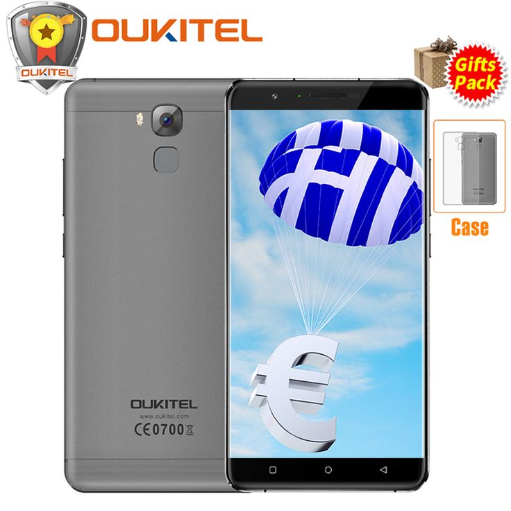 """==> [Free Shipping] Buy Best Oukitel U16 Max 6.0"""" HD 3GB RAM 32GB ROM Smartphone MT6753 Octa Core Android 7.0 Cell Phone Fingerprint 4000mAh 4G Mobile Phone Online with LOWEST Price 