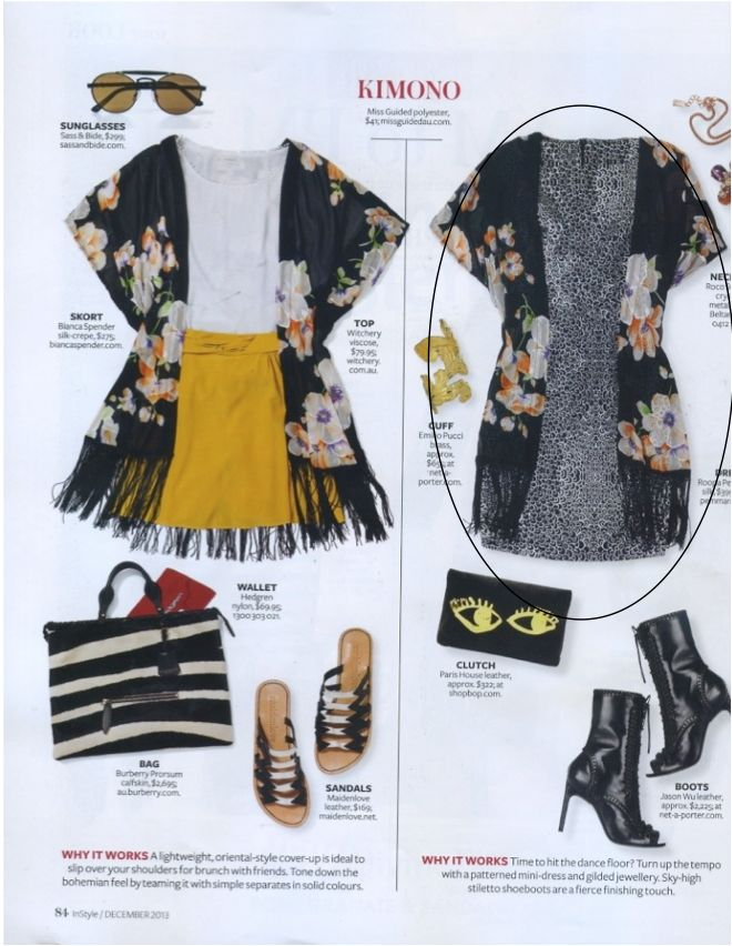 InStyle Magazine, December 2013
